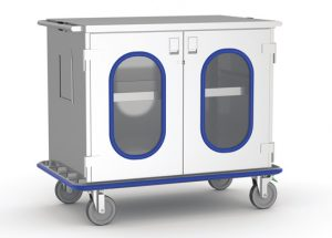Glass Door Case Carts